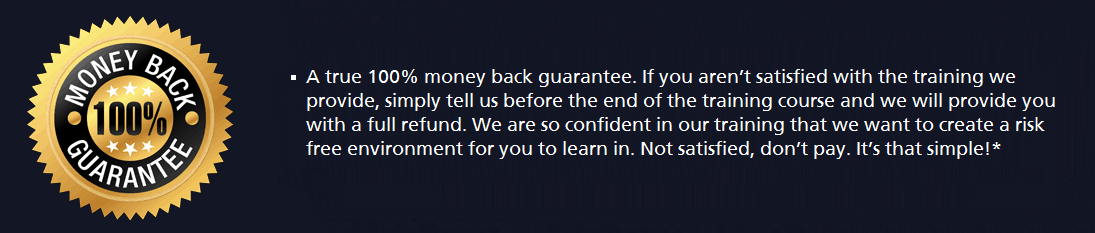 Money Back Gaurantee