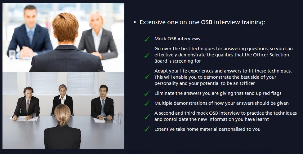 OSB interviews