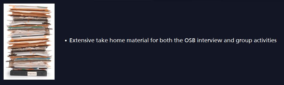take home material